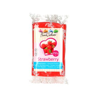 Fondant sabor fresa 250gr FunCakes