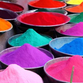 Colorantes en polvo