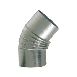 codo galvanizado para tubos de calefacción