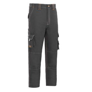 Pantalones con triple costura de protección profesional