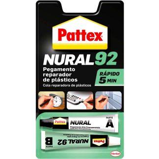 Adhesivo reparador plásticos Pattex Nural 92