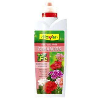 Abono para geranios de jardín y plantas de flor flower