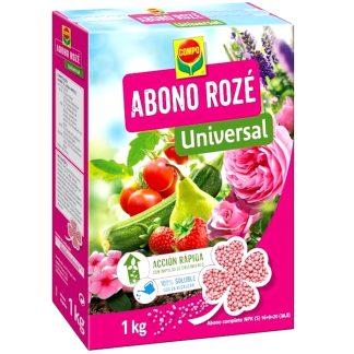 Abono universal granulado para plantas, jardín, flores y huerto compo