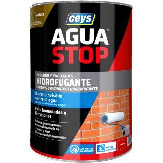Hidrofugante líquido Ceys Aguastop para fachadas y muros