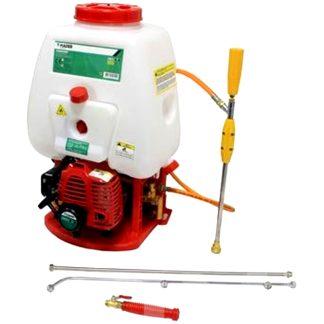 Atomizador con motor de gasolina de 2 tiempos para pulverizar y fumigar huerto y jardín