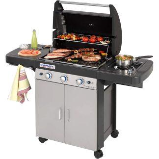 Barbacoa a gas Classic LS Plus Campingaz per a barbacoes de jardí i terrassa a l'estiu, amb fogó, graella, forn, grill, planxa