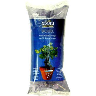 Agua sólida para regar plantas durante 30 días Biogel Aquacontrol