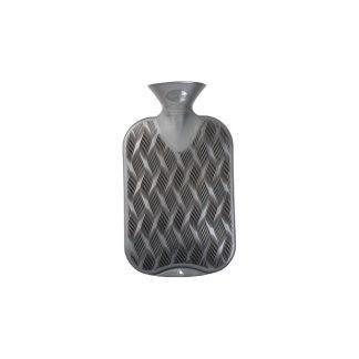 Bolsa de agua caliente con capacidad de 2 L acabada en color antracita gris
