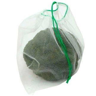 Bolsa malla reutilitzable per a vegetals i fruites