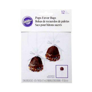 Bolsas + cintas cakepops