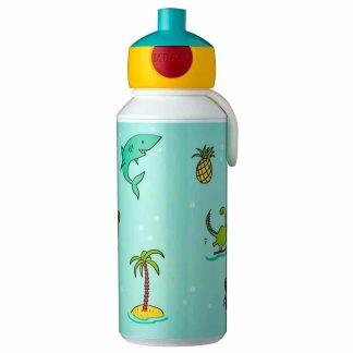 Botella infantil con diseño divertido para beber fuera de casa