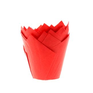 Càpsules CupCakes Tulipa Vermell