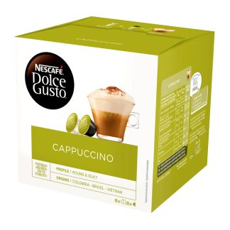 Pack 16 càpsules Dolce Gusto Cappuccino