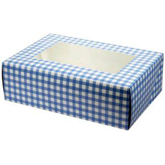 Caja para cupcakes de repostería, muffins y magdalenas