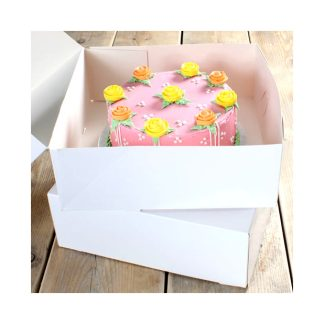 Caja para pasteles lisa