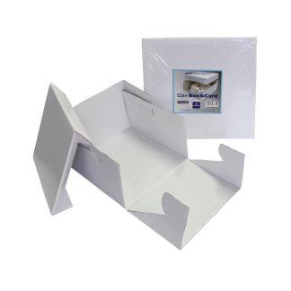 Caja pasteles cuadrada