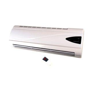 Calefactor cerámico digital 1000W - 2000W blanco