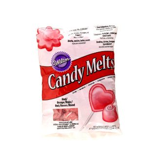 Candy Melts vermell Wilton