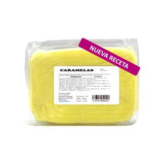 Caramelas pasta portuguesa amarillo