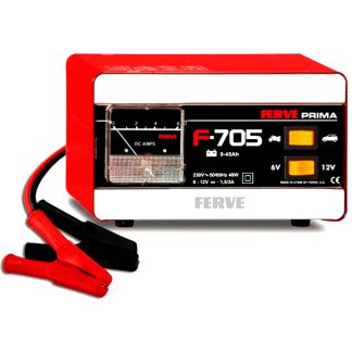 Cargador de batería Prima de Ferve 6V 12V 1,5 metros i 3 A