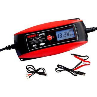 Carregador de bateria Ferve HF amb 6 / 12 v per al teu vehicle