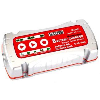 Cargador de batería Invercar 530 de 6 V -12 V