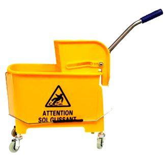 Carro de limpieza profesional 2 compartimentos 10 litros