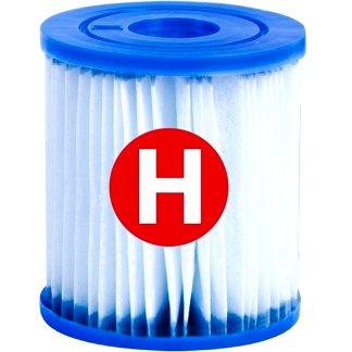 Cartucho filtraje de tipo H, mantenimiento del agua de piscina