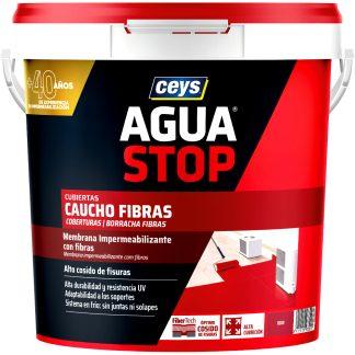 Cautxú acrílic amb fibres impermeabilitzant CEYS AGUASTOP