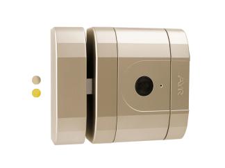 Bloqueo electrónico de seguridad Invisible Int-Lock con alarma y aplicación móvil en color níquel
