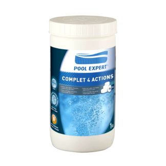 CLORO 4 ACCIONES PASTILLA 20 g 1kg