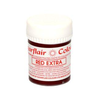 Colorante en pasta Sugarflair rojo