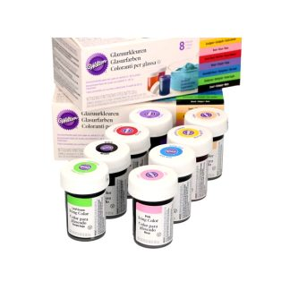 Colorant Wilton pack 8