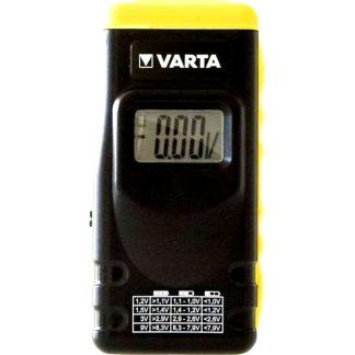 Comprovador de bateries VARTA per a piles