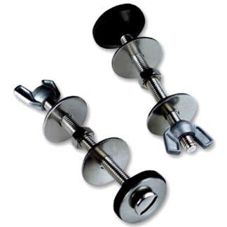 Conjunto tornillos, palomillas para cisterna cerámica, adaptable al inodoro de Plastisan Drena