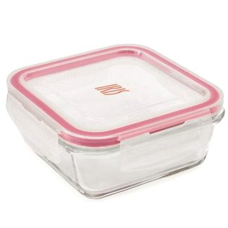 Contenedor porta-alimentos de cristal borosilicato IRIS