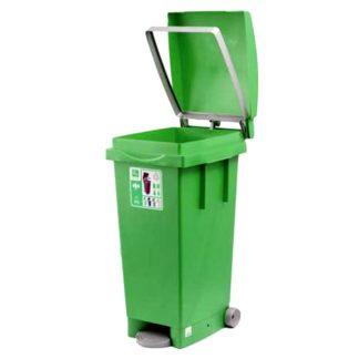 Contenidor de residus per al jardí amb 80l de capacitat