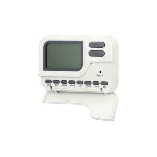 Cronotermostato digital para calefacción y aire acondicionado