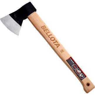 Destral biscaïna amb mànec de fusta molt resistent que no es pot trencar Bellota per a jardí, hort i càmping
