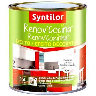 Barniz esmalte para pintar la cocina acabado brillante Renov Cocina