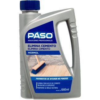 Eliminador de cemento para suelos de mármol PASO