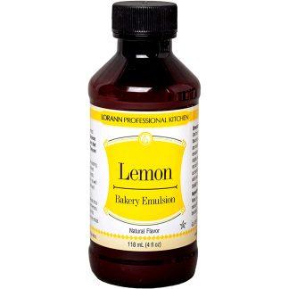 Emulsión Lorann Bakery Emulsion para repostería, pasteles y postres limon