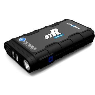 Arrancador cargador de batería Minibatt STR para vehículos y dispositivos electrónicos como móviles, iPad, ordenadores, 12000 mah