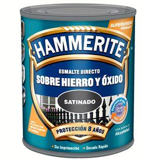 Esmalt directe sobre ferro i òxid Hammerite
