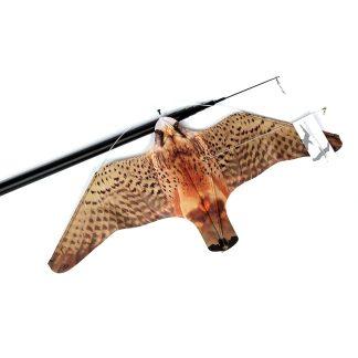 Stopgull falcon para asustar pájaros en yates, instalaciones portuarias y embarcaciones, anti gaviotas y aves costeras