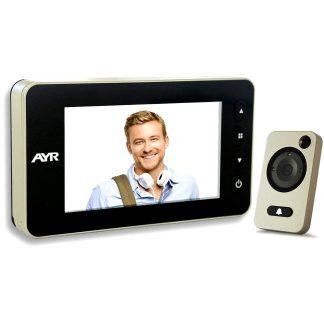 Mirilla digital AYR gama FACE modelo 755 para la seguridad del hogar
