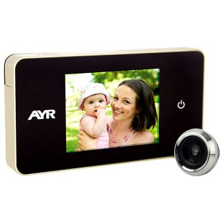 Mirilla digital AYR gama FACE modelo 756 para la seguridad del hogar