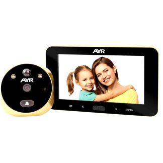 Mirilla digital AYR gama FACE modelo 759 FULL HD para la seguridad del hogar