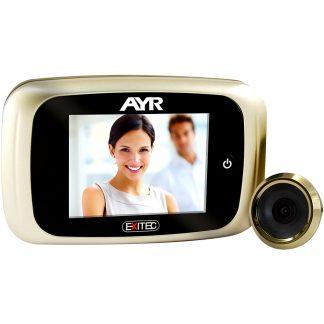 Mirilla digital AYR gama LIVE modelo 753 para la seguridad del hogar