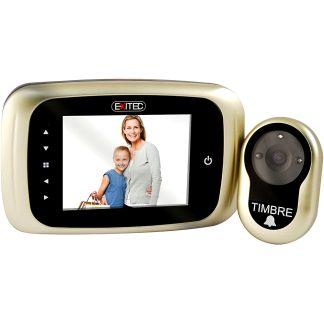Mirilla digital AYR grabadora modelo 751 con función de grabación de imagenes y videos para la seguridad del hogar